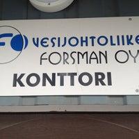 Photo taken at Vjl- Forsman by Markus I. on 4/16/2013