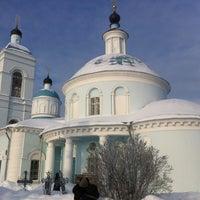 Photo taken at Церковь Рождества Богородицы в Образцово by Константин П. on 1/20/2013