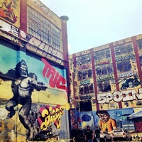 Photo taken at 5 Pointz by Paloma V. on 7/7/2013