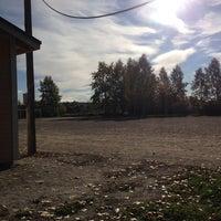 Photo taken at Räimän Kenttä by jukka t. on 9/30/2013