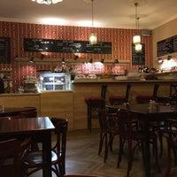 Photo taken at Nebespán Café by Květinka L. on 1/7/2016