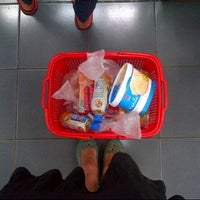 Photo taken at Super Indo Cirendeu by Fauzia Imelda on 12/5/2012