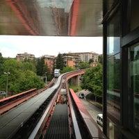 Photo taken at Stazione Minimetrò Case Bruciate by Matteo Q. on 6/3/2013