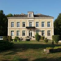 Photo taken at Le Chateau De Pougy by Yvonne M. on 9/1/2018