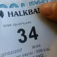 Photo taken at Halkbank by Sidar T. on 2/7/2017
