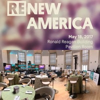 Photo taken at Ronald Reagan Building & International Trade Center by Wayne S. on 5/18/2017