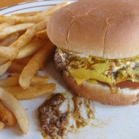 Photo taken at Tomy's Hamburgers by Chad A. on 10/5/2012