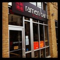 Photo taken at Ramen Bar by Ron S. on 10/19/2012