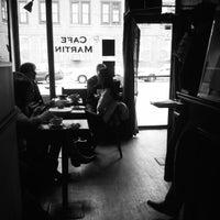 Photo taken at Café Martin by Donny T. on 3/6/2013