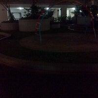 Photo taken at Gaharu Park, Kalibata City Apartment by Rindra D. on 6/7/2013