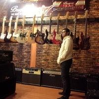 Photo taken at Tiga Negeri Music House by Utari N. on 6/13/2015