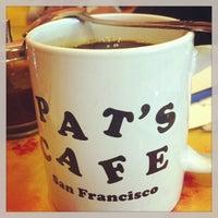 Photo taken at Pat's Cafe by Joyce S. on 7/20/2013
