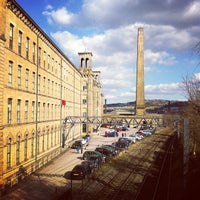 Photo taken at Salts Mill by Joyce S. on 4/4/2013
