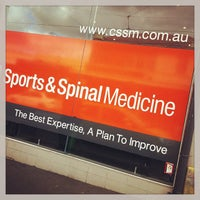 Photo taken at Camberwell Sports & Spinal Medicine by Joyce S. on 8/21/2013