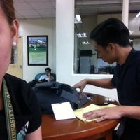 Photo taken at Trinity University of Asia - Library (Mandell Hall) by Kim F. on 4/22/2016
