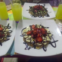 Photo taken at Waffle Lila House by İpek A. on 8/4/2016
