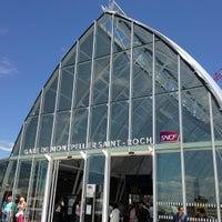 Photo taken at Gare SNCF de Montpellier Saint-Roch by Florent M. on 6/21/2013