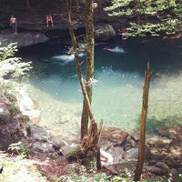 Photo taken at Peekamoose Mountain Blue Hole by Johnny D. on 7/17/2013