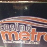 Photo taken at Casino Metro by Jean M. on 12/24/2015