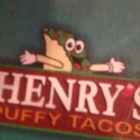 Photo taken at Henry's Puffy Tacos & Cantina by Aaron M. on 9/28/2012