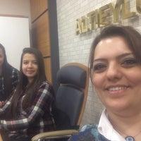 Photo taken at altıeylül belediyesi başkanlık katı by Serap E. on 3/31/2016