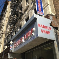 3/27/2013にBlake L.がManhattan Barber Shopで撮った写真