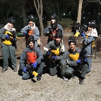 Photo taken at Javan Paintball | پینت بال جنگلی جوان by Arsalan G. on 3/21/2016