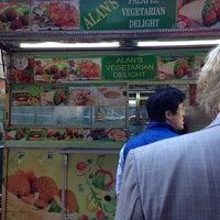Photo taken at Alan's Falafel Cart by John W. on 4/1/2014