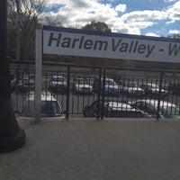 Photo taken at Metro North - Harlem Valley / Wingdale Train Station by John M. on 10/27/2014
