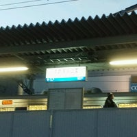 Photo taken at Sumakaihinkōen Station by かてふ on 12/23/2016