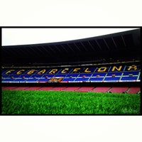 Photo taken at Camp Nou by Aleix on 5/19/2013
