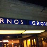 Photo taken at Arnos Grove London Underground Station by Raziel P. on 12/31/2011