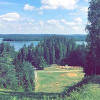 """Photo taken at Slēpošanas kalns """"Mežezers"""" by Ashly L. on 7/5/2016"""