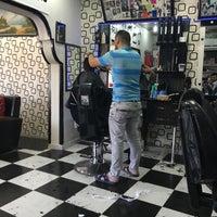 Photo taken at salon astra erkek kuaförü by Mezher B. on 7/1/2016