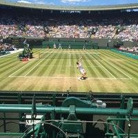 7/6/2016 tarihinde Ivana K.ziyaretçi tarafından The All England Lawn Tennis Club'de çekilen fotoğraf