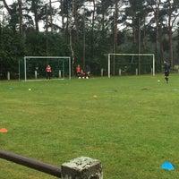 Photo taken at Voetbal K Hechtel FC by Inge P. on 8/3/2016