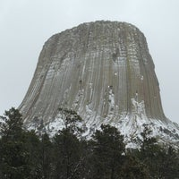 Photo taken at Devils Tower National Monument by Dave L. on 4/17/2013