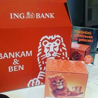 Photo taken at ING Bank by Handan S. on 6/17/2016