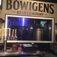 Photo taken at Bowigens Beer Company by Richard O. on 3/12/2017