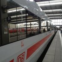 Photo taken at ICE 1090 Sprinter München — Berlin by der maximilian on 9/8/2013