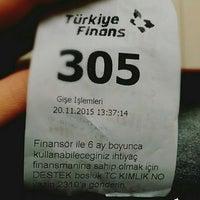 Photo taken at Turkiye Finans Katılım Bankası by Gamze Ö. on 11/20/2015