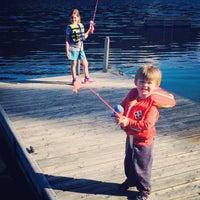 Photo taken at Bark Lake by David H. on 7/10/2014