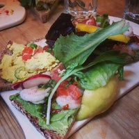 Photo taken at Le Pain Quotidien by Anna S. on 6/5/2013