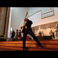 Photo taken at First Corinthian Baptist Church by Hassan E. on 10/16/2012