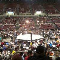 Photo taken at Rimrock Auto Arena by Adrian Z. on 9/16/2012