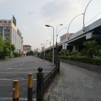 Photo taken at Beixinjing Bus Stn. by David L. on 7/30/2018