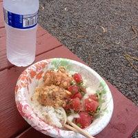 Photo taken at Lana'i Ohana Poke Market by Kenito on 6/5/2013