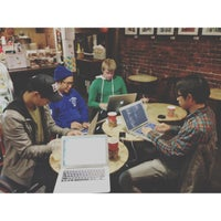 Photo taken at Church Street Cafe by Eric P. on 10/24/2012