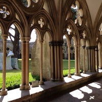 Photo taken at Salisbury Cathedral by Thomas C. on 7/14/2013