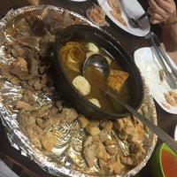 Photo Taken At Dapur Arang Corner Steamboat Amp Grill By Minami C